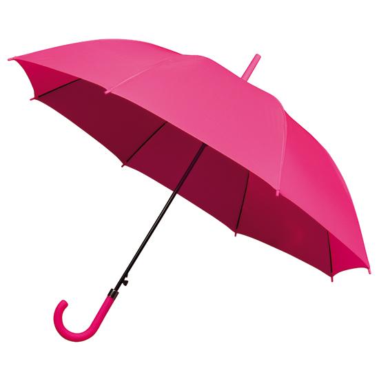roze paraplu