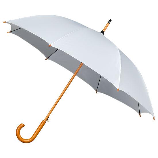 witte paraplu